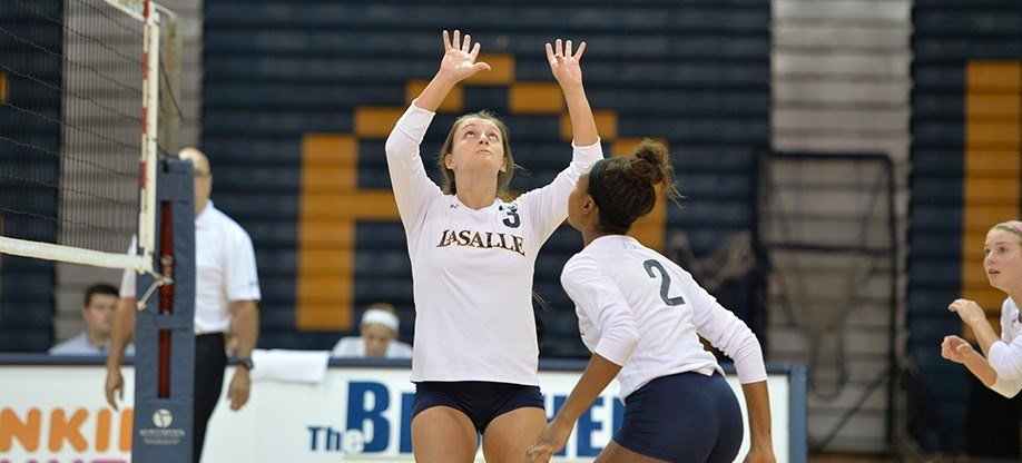 Volleyball Drops Pair on Second Day of Crowne Plaza Invitational